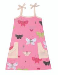 Butterflies Woven Patch Pocket