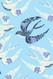 Bird Wallpaper Print