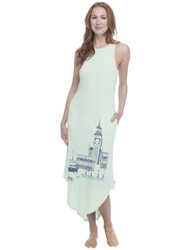 London Jersey Maxi Nightdress
