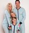 Blue Polar Bears Family