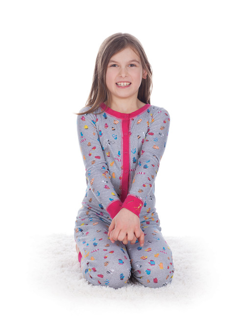 Teeny Mittens Kids Union Suit