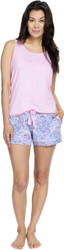 Lace Elephants Tank & Short PJ