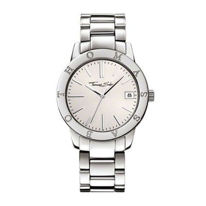 Classically-elegant design - with its shiny-white dial, this timeless watch is the perfect companion for all occasions. The branding on the bezel lends this fabulous watch its special look.