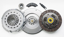South Bend Clutch 94-98 Ford 7.3 Powerstroke ZF-5 Org Feramic Clutch Kit (Solid Flywheel)