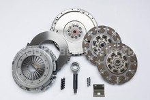 South Bend Clutch 08-09 Ford 6.4L ZF-6 Street Dual Disc Organic Clutch Kit