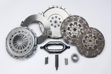 South Bend Clutch 00-03 Dodge RAM 2500/3500 L6-5.9L Street Dual Disc Clutch Kit - Org Button Clutch