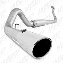 "4"" Turbo Back, Single Side Exit, Off-Road (Aluminized downpipe) ; AL - S6218AL"