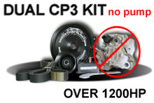 Dodge Fuel Pump 5.9L Cr Dual Cp3 Kit Dodge 1200+ Hp (Kit Only) 2003,13 Bosch - DCP3DKIT
