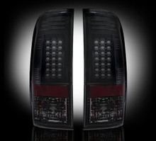 99-07 Ford Superduty Smoked LED Tail Lights