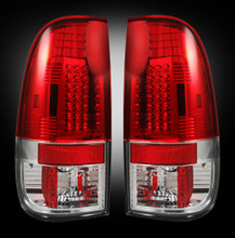 99-07 Ford Superduty Red LED Tail Lights