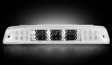 Dodge  94-02 RAM 2500/3500 - Red LED 3rd Brake Light Kit w/ White LED Cargo Lights - Clear Lens