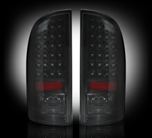 Dodge 07-09 RAM 2500/3500 LED TAIL LIGHTS - Smoked Lens