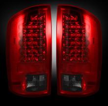 Dodge 07-09 RAM 2500/3500 LED TAIL LIGHTS - Dark Red Smoked Lens