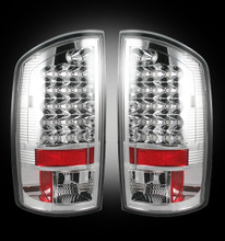 Dodge 03-06 RAM 2500/3500 LED Tail Lights - Clear Lens