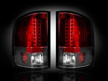 RED LED Tail Lights 07-13 Chevy Silverado & GMC Sierra Dually