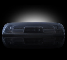 GMC & Chevy 14-15 Sierra & Silverado (3rd GEN) - Red LED 3rd Brake Light Kit w/ White LED Cargo Lights - Smoked Lens