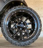 15 inch Innova Edge lifted golf car tire 23x10.5R15 and AR818  gloss black wheel