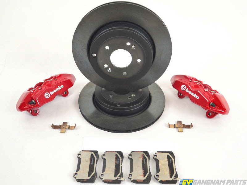 Brembo Brake Kit >> Genesis Coupe Brembo Brake Upgrade Kit Rear
