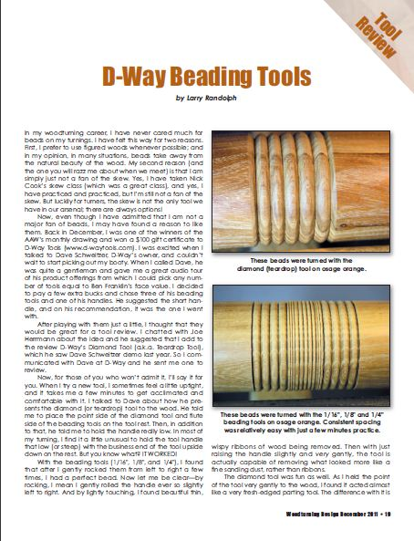 Beading Tools Review - D-Way Tools
