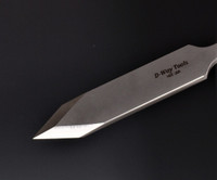 NEW ITEM on Site.  Straight Spear Point NEG RAKE Scraper Medium size