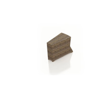 Forever Patio Cypress Wicker Wedge End Table
