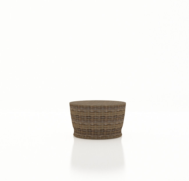 Forever Patio Cypress Wicker Round Chat Table By Northcape