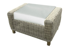 Forever Patio Carlisle Wicker Ottoman by NorthCape International