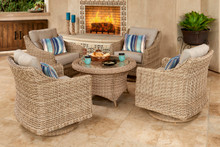 Forever Patio 5 Piece Carlisle Chat Set by NorthCape International