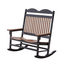 Wildridge Heritage Poly-Lumber Traditional Double Rocker
