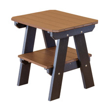 Wildridge Heritage Poly-Lumber Two Tier End Table