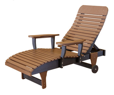Wildridge Heritage Poly Lumber Chaise Lounge Modern