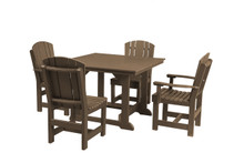 "Wildridge Heritage Poly-Lumber 5 Piece 44"" Square  Dining Set"