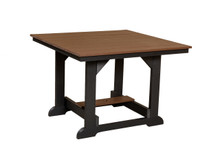 "Wildridge Heritage Poly-Lumber 44"" Square Dining Table"