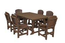 "Wildridge Heritage Poly-Lumber 7 Piece 72"" Rectangular  Dining Set"
