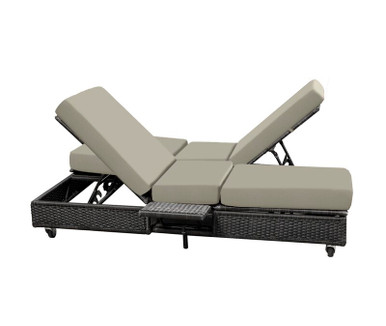 Replacement Cushions for NorthCape International Catalina Double Adjustable Chaise Lounge