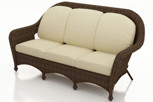 Replacement Cushions for NorthCape International's Forever Patio Winslow 3 Seat Sofa
