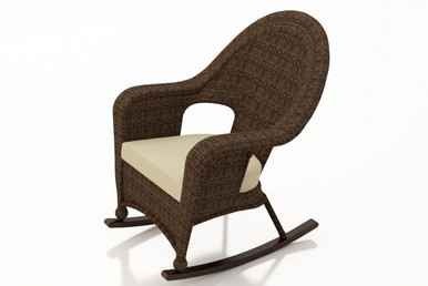 Replacement Cushion for NorthCape International's Forever Patio Winslow High Back Rocker