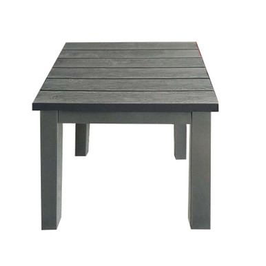 Forever Patio Selene Aluminum Textured Wood Grain End Table