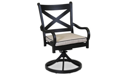 Replacement Cushions for Sunset West Monterey Swivel Dining Chair