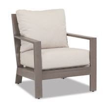 Laguna Club Chair With Cushions In Canvas Flax
