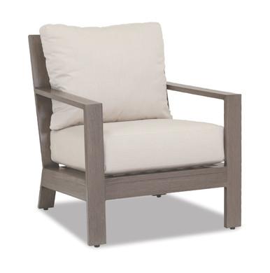 Laguna Club Chair With Cushions In Canvas Flax