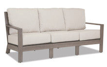 Laguna Sofa with cushions in Canvas Flax