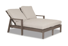 Replacement Cushions for Sunset West Laguna Double Chaise Lounge