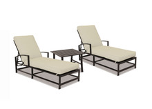 La Jolla Chaises With End Table