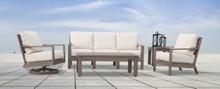 Laguna Sofa, Club Chair, Swivel Club And Tables