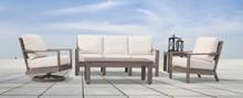 Laguna Sofa, Club Chair, Swivel Club And Tables