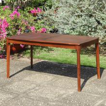 International Caravan Highland Acacia Americana 59-inch by 32-inch Rectangular Dining Table