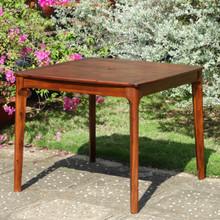 International Caravan Highland Acacia Americana 36-inch Square Dining Table