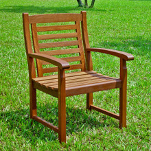 International Caravan Highland Acacia Trinidad Chair