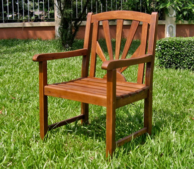 International Caravan Highland Acacia Sapporo Chair
